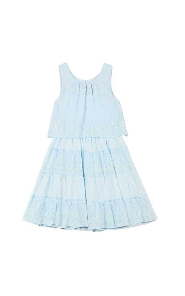 Robe derhy kids fille enfant été jolie orange belle
