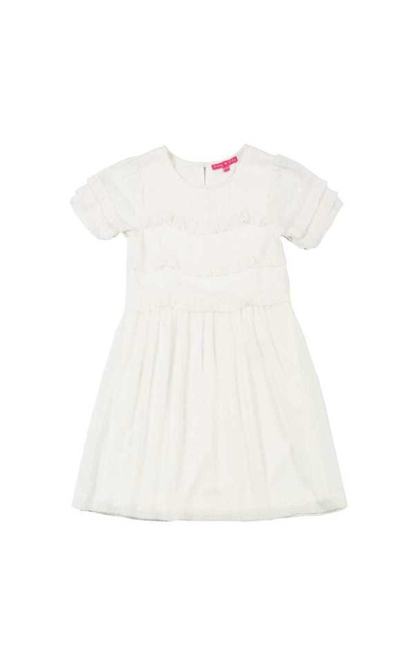 Derhy Kids belle robe enfant fille volants été summer