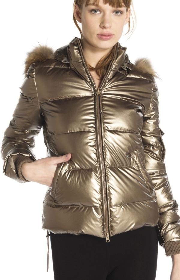 Image 1 - veste matelassée en polyester, matelassage intérieur. parka Occultisme couleur  Derhy