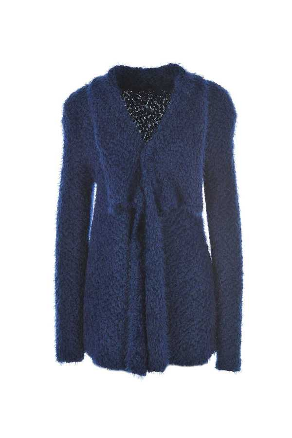 Cardigan long avec col loose