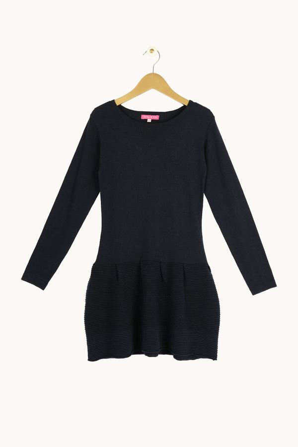 Robe tricot jupe volumineuse