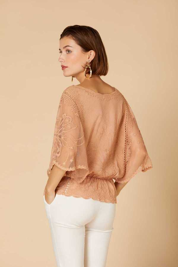 couleur caramel-taupe Derhy