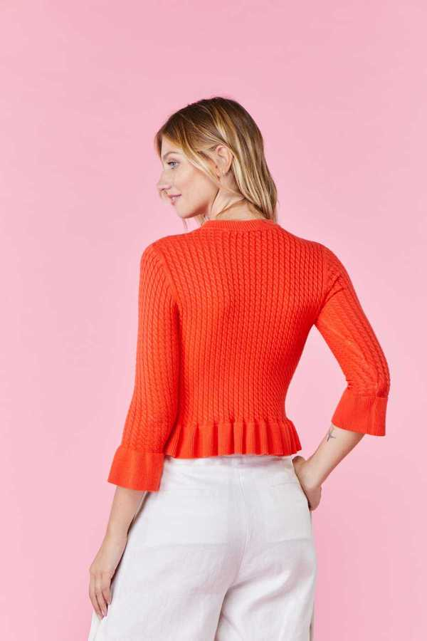 couleur orange Derhy