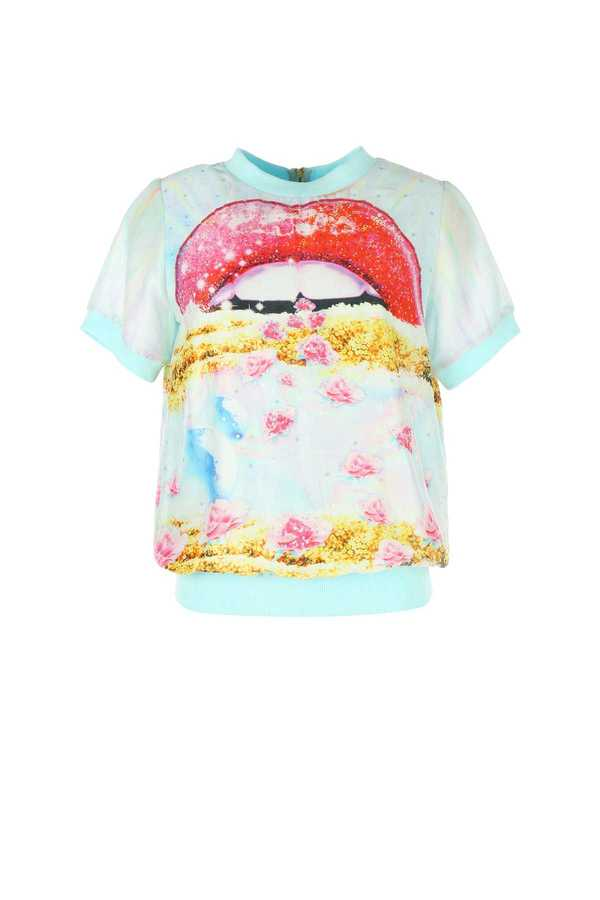 Sweat coton imprimée collection Manish Arora Derhy
