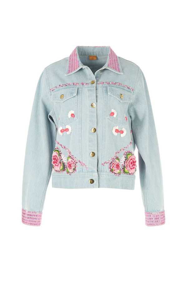 Veste jean miss Jona, collection Manish Loves Derhy
