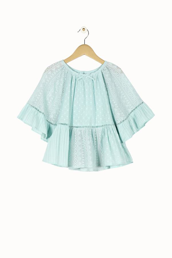 Blouse manches amples Derhy Kids.