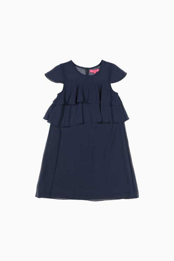 Robe voile volants enfant fille DERHY KIDS