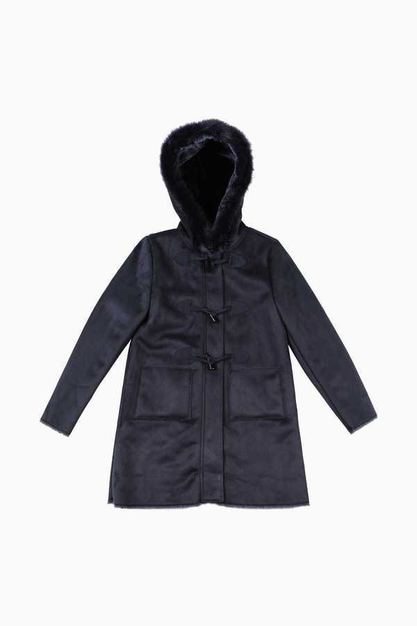 Duffle coat fourré capuche enfant fille DERHY KIDS